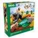 Kolejka Drewniana BRIO 33960 - Zestaw Safari
