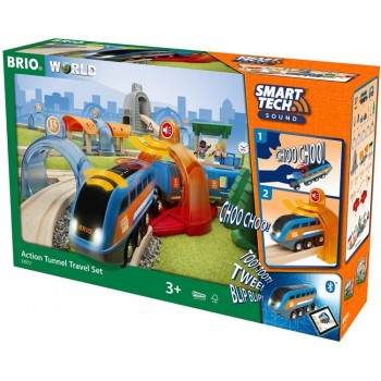 BRIO 33972 Zestaw deluxe z technologią SmartTech