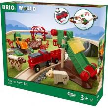 BRIO 33984 Kolejka drewniana Farma