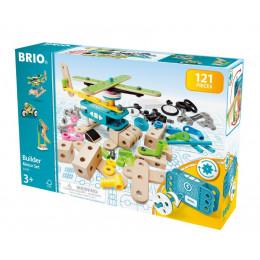 BRIO - Zestaw majsterkowicza - 121 elementów konstrukcyjnych - 34591