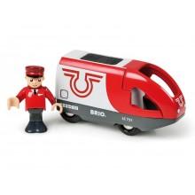 BRIO 33504 Czerwona Kolejka na Baterię