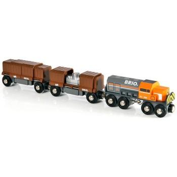 BRIO Pociąg Towarowy do kolejek drewnianych 33567