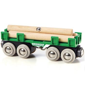 BRIO Wagon z Drewnem 33696