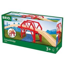 BRIO 33699 Most na zakręcie - Kolejka drewniana