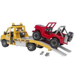 Bruder - Pomoc drogowa - Mercedes Sprinter i jeep - 02535