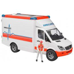 Bruder - Ambulans MB Sprinter - Karetka pogotowia ratunkowego 1:16 - 02536