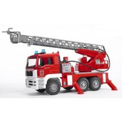 Bruder - Wóz strażacki MAN z drabiną 80cm - 02771