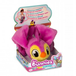 Bunnies Friends - Magnetyczny ptaszek - fioletowy 97643