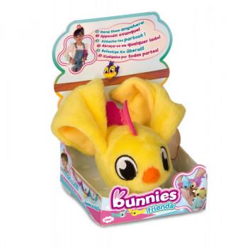 Bunnies Friends - Magnetyczny ptaszek - żółty 97667