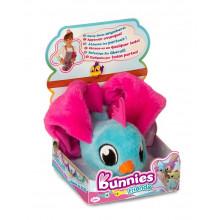 Bunnies Friends - Magnetyczny ptaszek - niebieski 97698