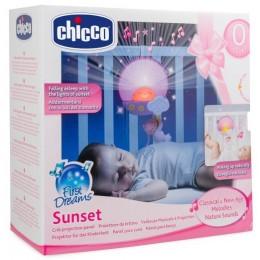 CHICCO 24643 Panel do łóżeczka - Projektor Światła i Dźwięku - różowy