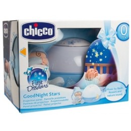 CHICCO 59855 Projektor Gwiazdek Good Night Stars - niebieski