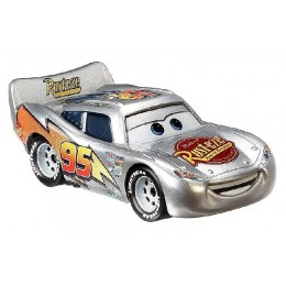 Auta Cars - Samochodzik - Srebrny Zygzak McQueen - GKB49
