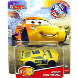 Cars Auta - Autko zmieniający kolor - Dinoco Cruz Ramirez GNY97