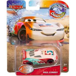 Cars Auta - Autko zmieniający kolor - Paul Conrev GPB00