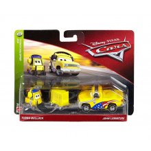 Cars Auta - Dwupak Turbo Bullock i John Lassetire - FLH66