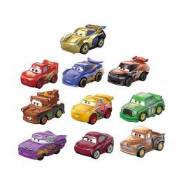 Cars Auta Mini Racers– Zestaw 10 metalowych pojazdów – GKG23
