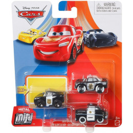 Auta Cars - Mini Racers – Zestaw trzech mini autek – GKG60
