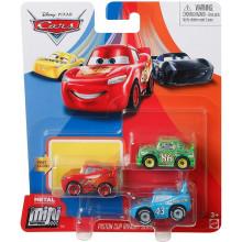 Auta Cars - Mini Racers – Zestaw trzech mini autek – GKG64