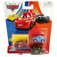 Auta Cars - Mini Racers – Zestaw trzech mini autek – GKG65