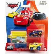 Auta Cars - Mini Racers – Zestaw trzech mini autek – GKG66