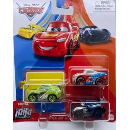 Auta Cars - Mini Racers – Zestaw trzech mini autek – GKG67