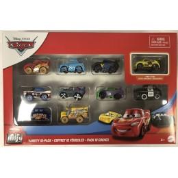 Cars Auta – Mini Racers - Zestaw 10 samochodów – GKG70