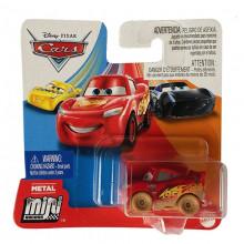 Auta Cars - Mini Racers - Ubłocony Zygzak McQueen - GKF65 GLD53