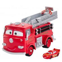 Cars Auta - Wóz strażacki Edek – Zestaw do zmiany koloru – GPH80