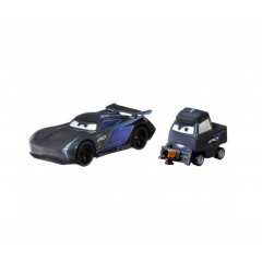 Auta Cars – Dwupak samochodzików Jackson Storm i Laura Spinwell – GRR24