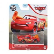 Auta Cars – Samochodzik Zygzak McQueen z pachołkiem – GRR57