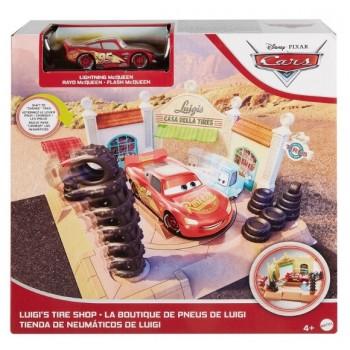 Auta Cars – Sklep z oponami Luigiego + Zygzak GTK83