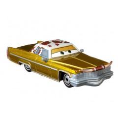 Auta Cars – Samochód złoty Tex Dinoco – DXV29 GXG52 HBR30