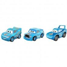 Auta Cars Mini Racers – Zestaw trzech autek – Metal – GYD34