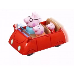 Świnka Peppa - Rodzinne auto Peppy Push&Go - 5130