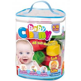 Clementoni - Miękkie klocki Clemmy Baby - 48el 17134