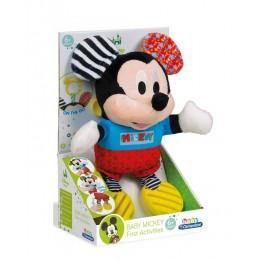 Clementoni Baby – Maskotka sensoryczna Disney Myszka Miki – 17165