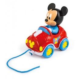 Clementoni Baby – Autko do ciągnięcia Myszka Mickey – 17208