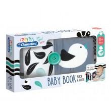 Clementoni Baby – Miękka książeczka sensoryczna dla niemowląt – 17355