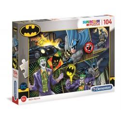 Clementoni – Puzzle Supercolor 104 elementy – Batman i Joker – 25708