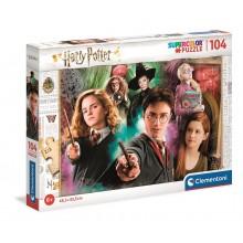 Clementoni – Puzzle Supercolor 104 elementy – Harry Potter – 25712