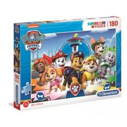 Clementoni – Puzzle Supercolor 180 elementów – Psi Patrol – 29105