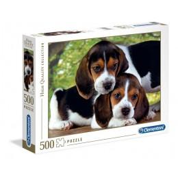 Clementoni – Puzzle 500 elementów – Pieski – 30289