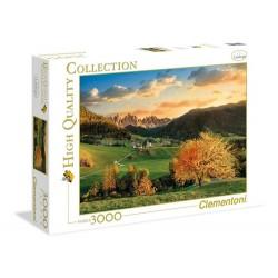 Clementoni – Puzzle 3000 elementów – Alpy – 33545