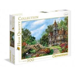 Clementoni – Puzzle 500 elementów – Stary dom – 35048