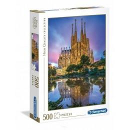 Clementoni – Puzzle 500 elementów – Sagrada Familia – 35062