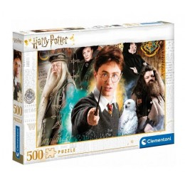 Clementoni – Puzzle 500 elementów – Harry Potter – 35083