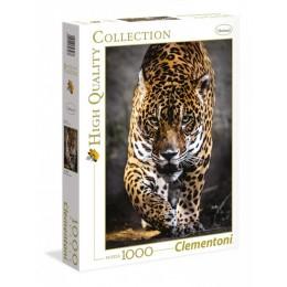 Clementoni – Puzzle 1000 elementów – Kroczący jaguar – 39326