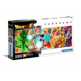 Clementoni – Puzzle panoramiczne 1000 elementów – Dragon Ball – 39486