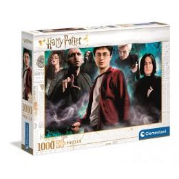 Clementoni – Puzzle 1000 elementów – Harry Potter – 39586